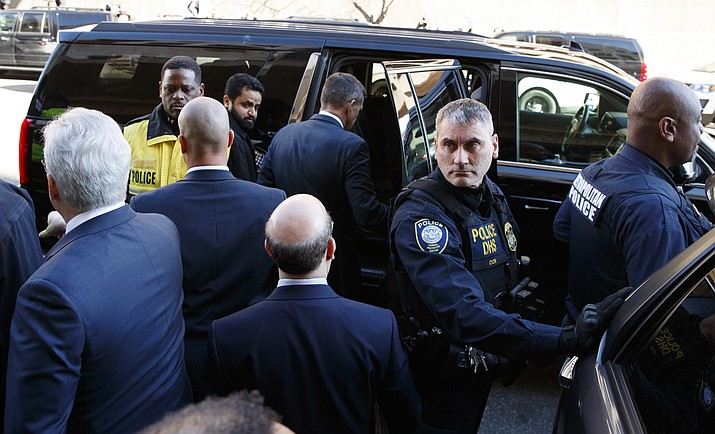 President Donald Trump's former national security adviser Michael Flynn enters his vehicle as he leaves federal court in Washington, Tuesday, Dec. 18, 2018. (Carolyn Kaster/AP)