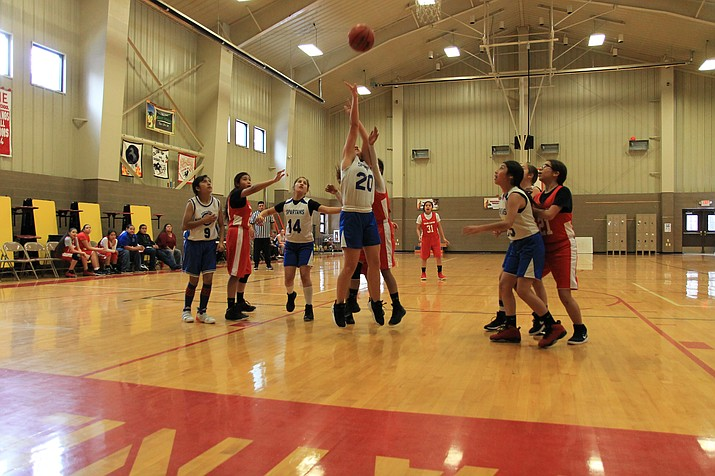 Williams, Ash Fork and Parks middle schools participated in the I-40 League tournaments last weekend. (Wendy Howell/WGCN)