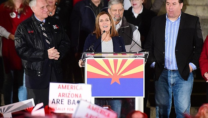 McSally appointed to vacant U.S. Senate seat