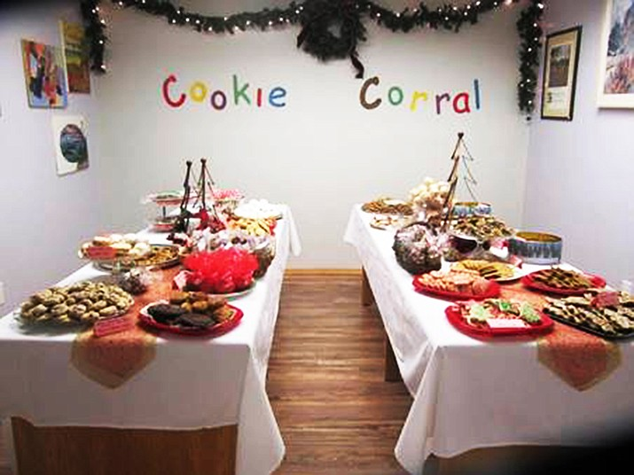 Williams bakers provide cookies and treats for the annual Williams Alliance for the Art's Cookie Corral. (Photo/Kris Williams)