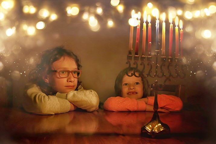 Many religions have celebrations in December, including the Jewish holiday Hanukkah. (stock photo)