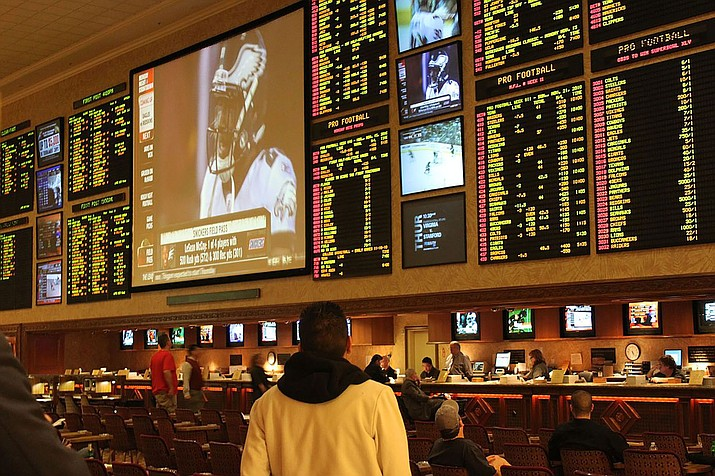 Eight states already offer sports betting, but it may soon be more. (Photo by Baishampayan Ghose, CC by 2.0, https://bit.ly/2SXfqVJ)