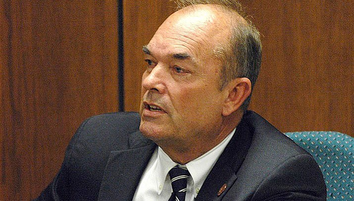 A Maricopa County judge says she'll decide Friday whether Don Shooter, a former Yuma lawmaker expelled from the state House of Representatives over sexual misconduct, can run for state Senate. (Howard Fischer/Capitol Media Services file photo)