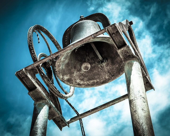"""School Bell"" by Michael McDermott. (Patti Ortiz/Courtesy)"