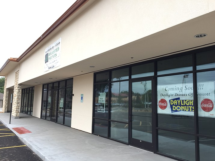 Daylight Donuts will be opening at 811 Whipple St. in Prescott by the end of January (Photo by Max Efrein).