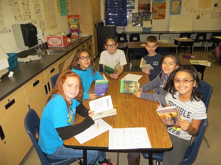 Pictured clockwise: Razaya Guardian (Age 10), Makayla Binkney (Age 10), Angellisa Perry (Age 11), Tre Swarts (Age 10), Riley Ott (Age 11), and Zylie Mejia (Age 10).