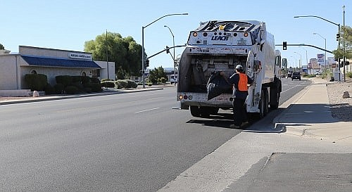 The City of Kingman Sanitation Department and the Clean City Commission are teaming up to offer a $3 special trash haul cleanup for the month of January. (Daily Miner file photo)