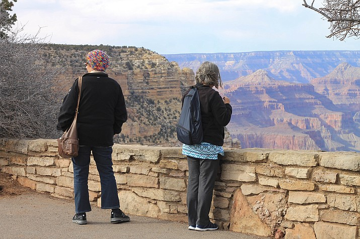 The Grand Canyon Protection Plan was put in place in Feruary 2018 to keep the park operational in the face of a government shutdown. (Erin Ford/WGCN)