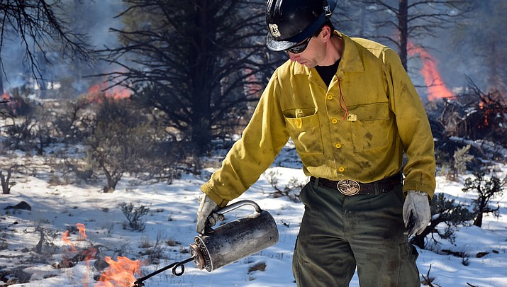 Prescribed fire projects continue on Tusayan Ranger District