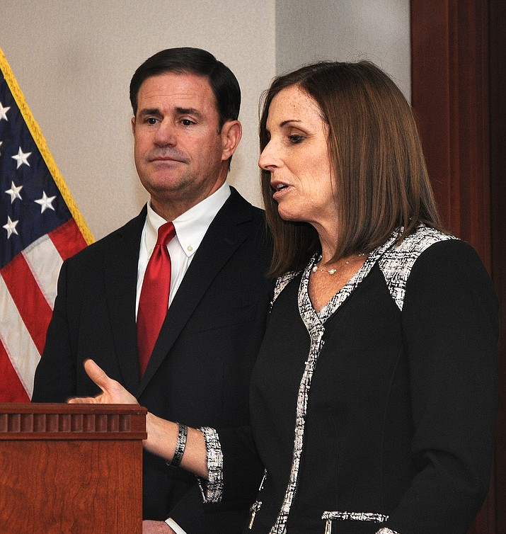 Martha McSally was appointed to the U.S. Senate Dec. 18. (Photo/Howard Fischer)