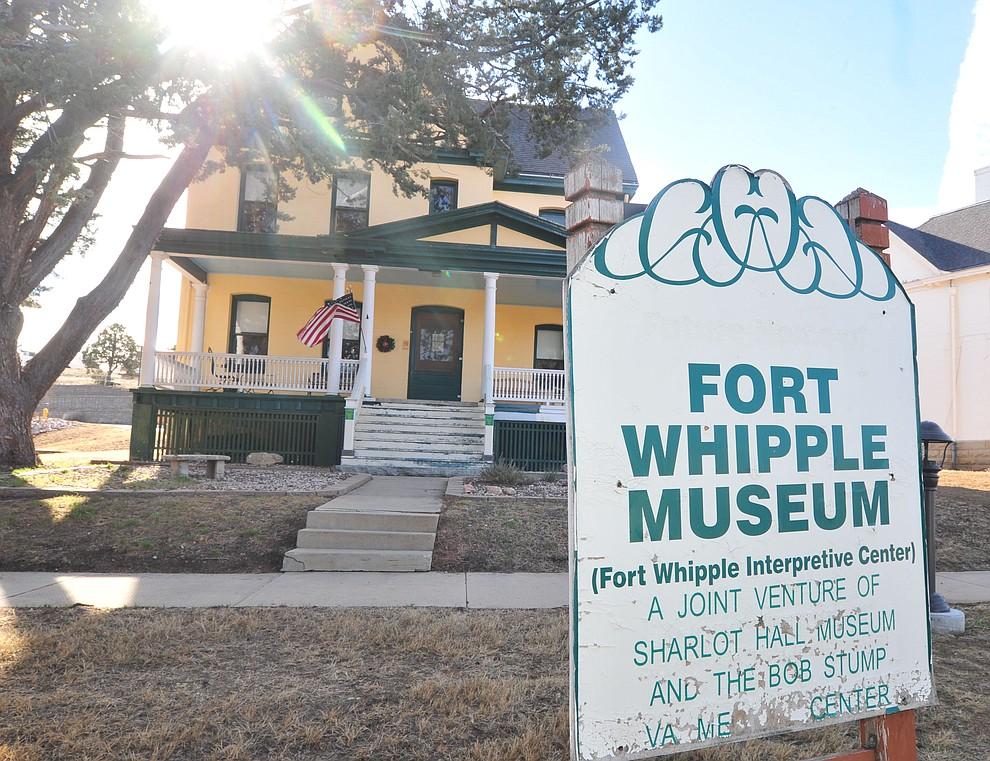 Fort Whipple Museum on the grounds of the Northern Arizona VA Medical Center in Prescott. (Les Stukenberg/Courier).