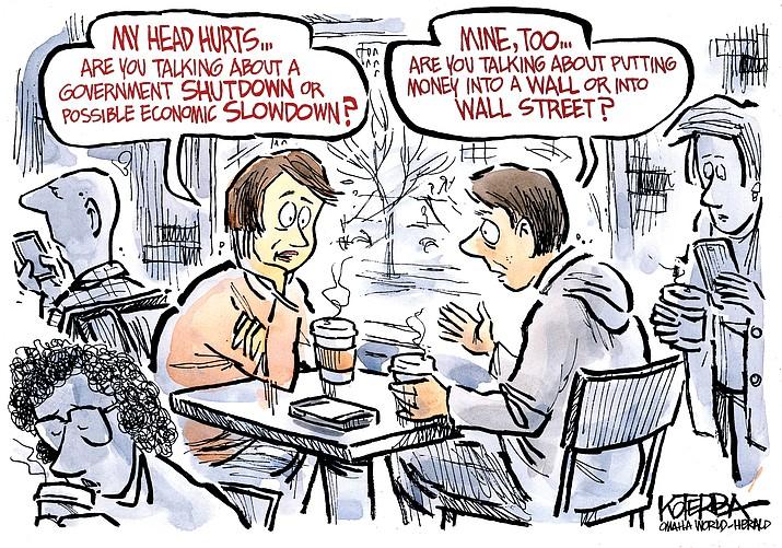 Editorial Cartoon   December 28, 2018