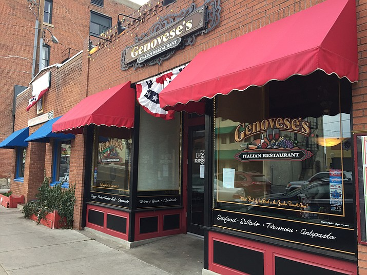 One of Prescott's longest-running Italian restaurants, Genovese's, appears to be closed indefinitely. (Max Efrein/Courier)