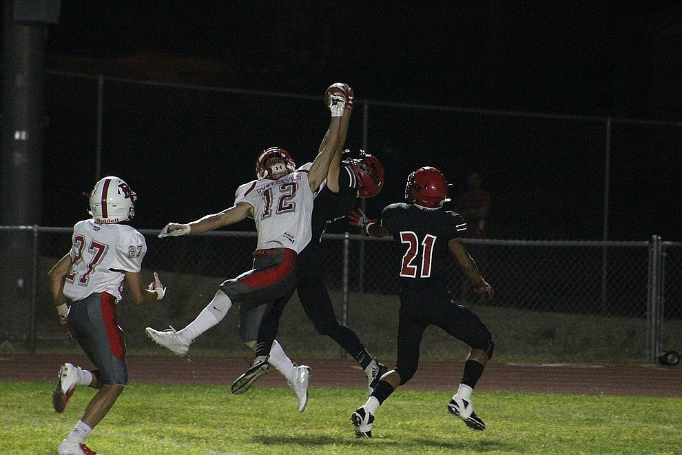 August 31 - The Lee Williams High School football team won its first game of the year Friday night with a 28-14 victory over River Valley. Enzo Marino rushed for two touchdowns, while Donnie Simms also scored on the ground. Matt Bathauer blocked a punt and Luigi Garibaldi recovered it for a touchdown to round out the scoring.
