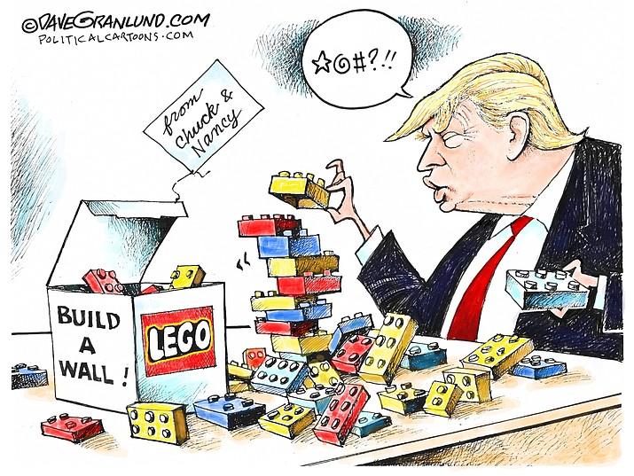 Editorial cartoon (1): Jan. 2, 2019