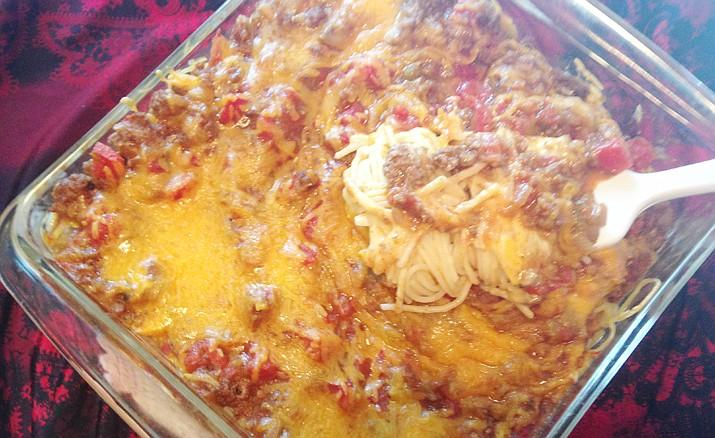 Taco Spaghetti recipe. (Diane DeHamer/Courtesy)