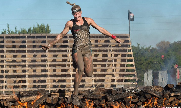 Christiana 'Kris' Rugloski trains for The Titan Games. The former Camp Verde resident will be one of 64 competitors on the television show beginning Jan. 3 on NBC. Courtesy photo