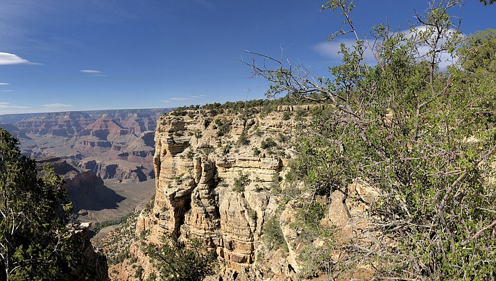 The Grand Canyon is celebrating 100 years as a national park in 2019. President Woodrow Wilson made the designation in 1919, but Teddy Roosevelt is credited for preserving the natural wonder as a game reserve and a national monument. (Photo by Claire Whitley/Daily Miner)