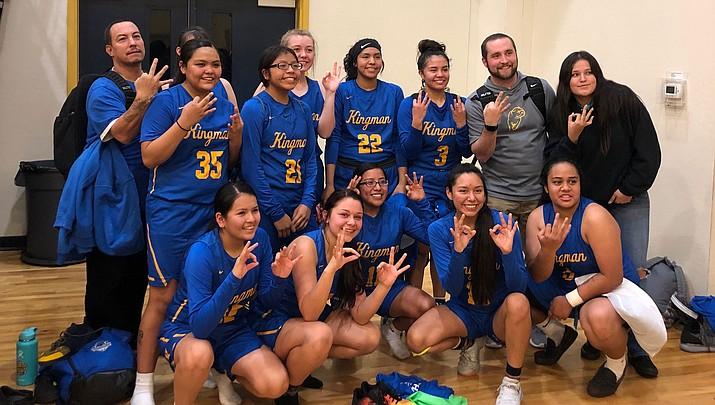 (Photo courtesy of Kingman High School girls basketball)