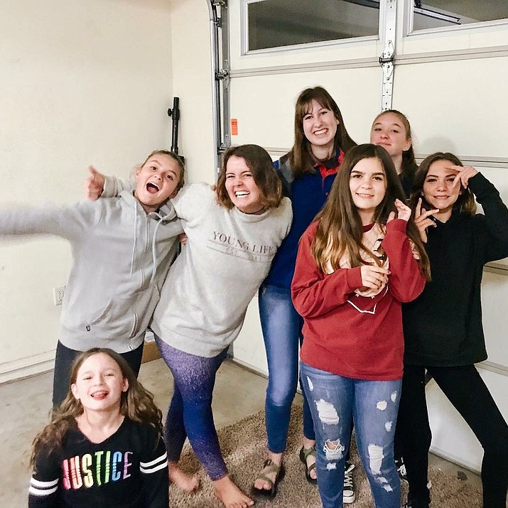 Currently, Williams Young Life has around 30 high school students and 10 middle school students who meet on a weekly basis. (photo/Williams Young Life)