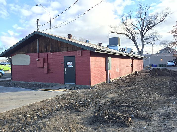 Renovations are being done to the former Cattleman's Bar and Grill on Sheldon Street in Prescott. The new owners of the building are planning to open a quick-serve barbecue restaurant in it by about mid-March. (Max Efrein/Courier)