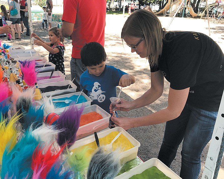 The 2019 Festival of the Arts is looking for artists, crafters and vendors interesting in participating in the Mothers-Day weekend event. (Daily Miner file photo)