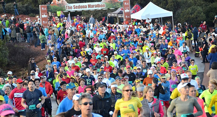 The Sedona Marathon has re-branded itself as RunSedona and has discontinued the full marathon. VVN/Vyto Starinskas