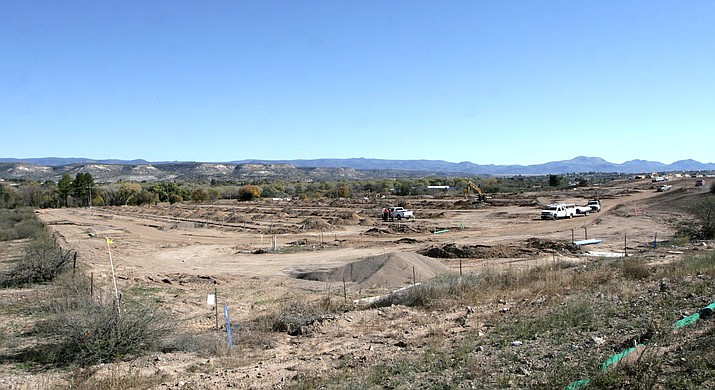 "A 400-plus space recreational vehicle park at SR 260 and I-17 in Camp Verde is expected to be completed by May 2019. According to Community Development Department Director Carmen Howard, Camp Verde continues to work toward its goal of ""providing an environment that encourages development and provides help and support to our clients who go through our processes."" VVN/Bill Helm"