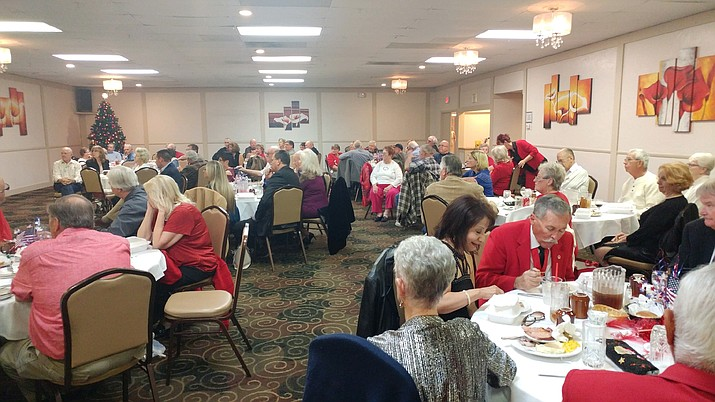 DAV Chapter 27 recently held its annual Volunteer Appreciation Dinner to acknowledge and thank the volunteer drivers and office staffs from the Kingman and Lake Havasu communities for all they do for the local veterans. (courtesy photo)