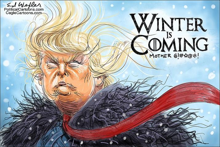 Editorial cartoon (2): Jan. 7, 2019