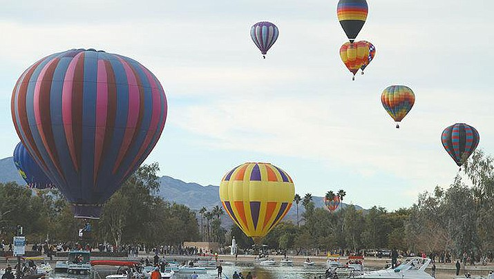 ASU Havasu students will get a closer look of a hot air balloon launch Thursday morning at the university's baseball field prior to the kick off of the Havasu Balloon Festival's activitiesThursday afternoon. (File photo)