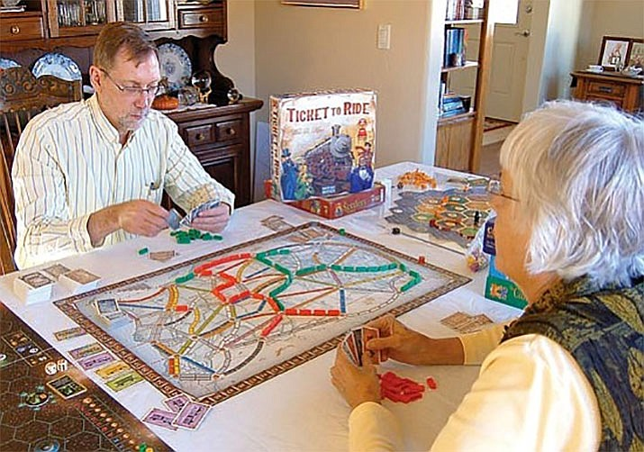 Play modern board games, like Ticket to Ride and Splendor on the 2nd, 4th and 5th Wednesday of every month. Come to play any time between 4 p.m. to 8 p.m. This group is hosted by the Prescott Area Board gamers and is open to anyone age 14 and over. Individuals 10-13 may participate if accompanied by an adult. Contact David Eagle at 928.592.5699 for more details. (Courier file photo)