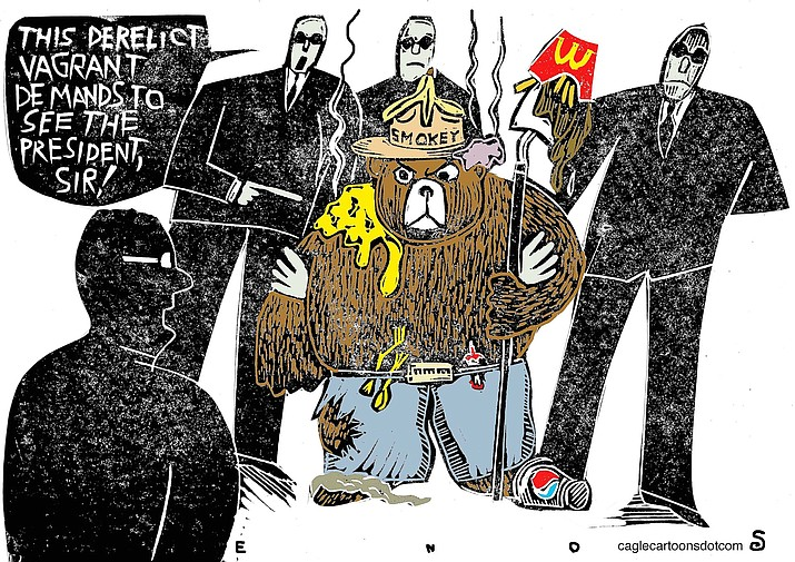 Editorial cartoon (1): Jan. 8, 2019
