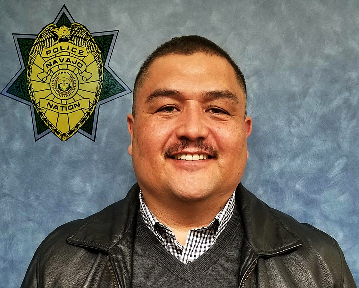 Daryl Noon is the new deputy chief of the Navajo Nation Police Department. (Photo/Navajo Nation Police Department)