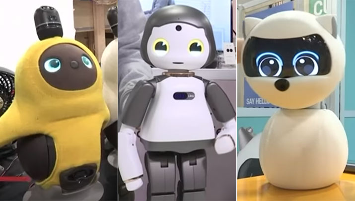 Watch: Robots tug on the heartstrings at CES gadget show ...