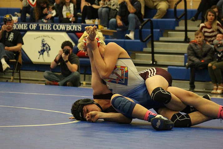 Dillan Tressler finished in sixth place at the Joseph City Invitational. VVN/James Kelley