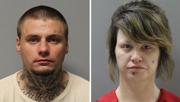 Colt Rose, 29, and Tia Reid, 27, were arrested Wednesday, Jan. 9, in Prescott Valley on traffic and drug-related charges after running from the police first in a vehicle and then on foot through a residential area.