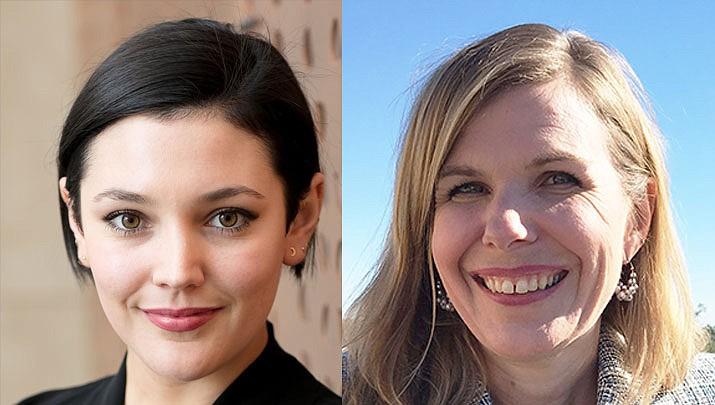 Tasha Menaker, ACESDV Chief Strategy Officer, left, and Erica McFadden, ADDPC Executive Director