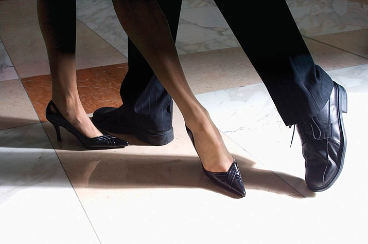 Ballroom Dance Party with Chad & Marie Burson, East Coast Swing dance lesson at 6:30 p.m., Dance party at 7:30 p.m., $10 for both. Adult Center of Prescott, 1280 E. Rosser Street. Jan. 11