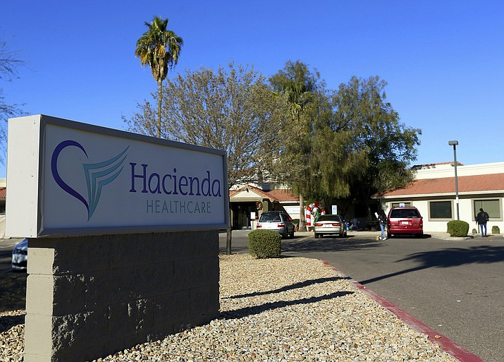 This Friday, Jan. 4, 2019, photo shows Hacienda HealthCare in Phoenix. The revelation that a Phoenix woman in a vegetative state recently gave birth has prompted Hacienda HealthCare CEO Bill Timmons to resign, putting a spotlight on the safety of long-term care settings for patients who are severely disabled or incapacitated. (Ross D. Franklin/AP)