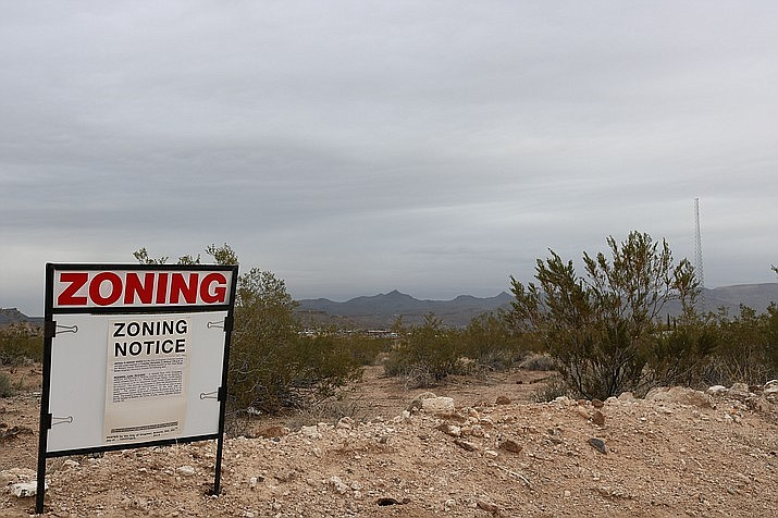After voting unanimously to approve a rezone at Slaughterhouse Canyon Road that would have reduced the size of lots, the City Planning and Zoning Commission reversed course and denied the rezone unanimously at Tuesday's meeting. (Daily Miner file photo)