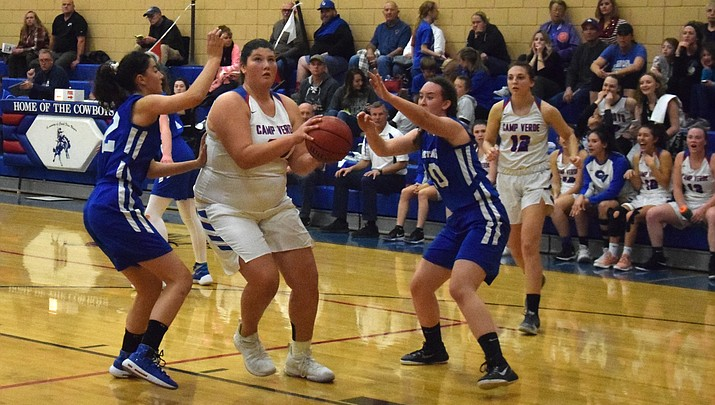 Camp Verde girls basketball rebounds to rout NPA