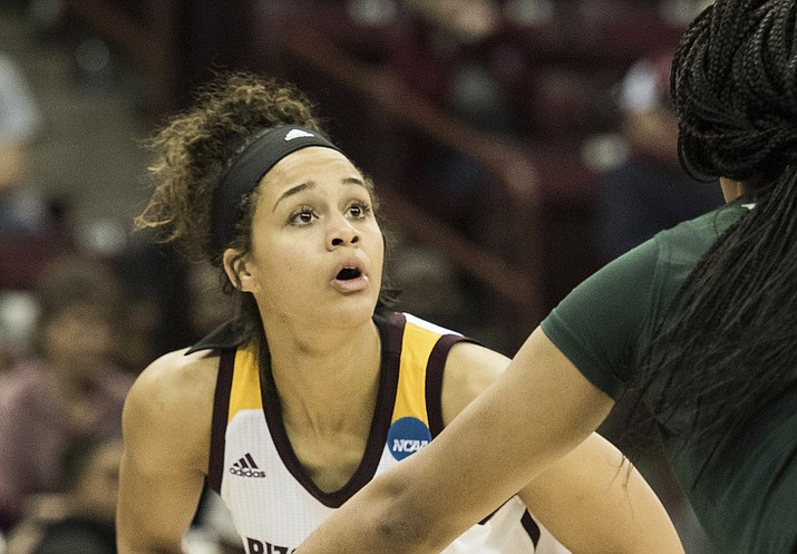 Arizona State forward Kianna Ibis (Sean Rayford/AP, file)