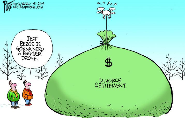 Editorial cartoon (2): Jan. 14, 2019