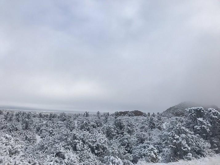 snow in prescott az 2020