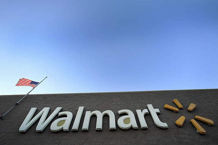File photo of a Walmart Supercenter in Houston. (AP Photo/David J. Phillip, File)