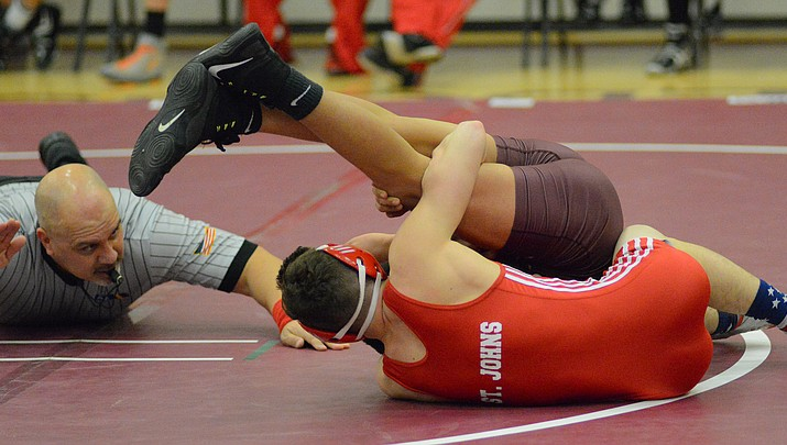 Photo highlights: Winslow wrestling tournament  Jan. 9