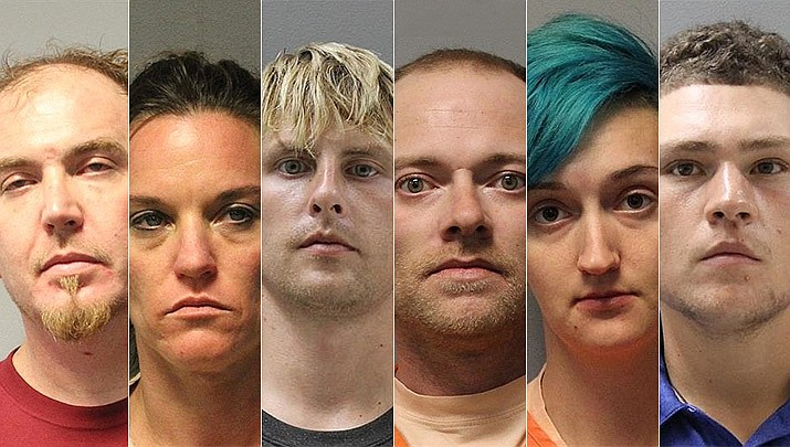 Out of the 16 individuals who were either caught in possession of fentanyl, or are believed to have been selling the deadly narcotic last year, six have received at least a partial sentence for their charges. The other 10 are still going through court proceedings. (Courier file photos, names listed below)