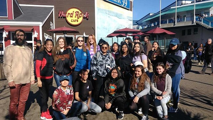 The Lady Phantons traveled to San Francisco, California Dec. 26-29 to participate in the West Coast Jamboree basketball tournament. (Submitted photo)