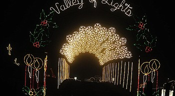 PV police seek information on damage to Valley of the Lights display photo